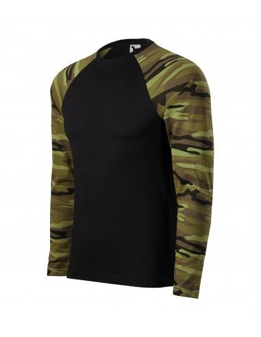 Tricou unisex Camouflage LS